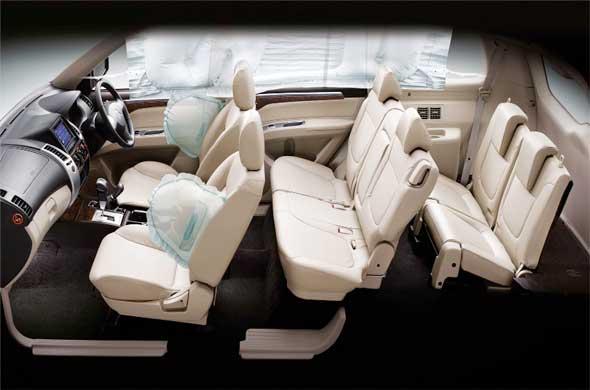 pajero sport 11 - Mitsubishi Montero 2015 Interior